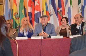 Miguel Barnet nella Conferenza di apertura del Terzo Forum Internazionale Timbalaye, Roma