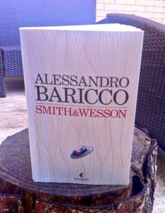 SMITH&WESSON, Alessandro Baricco - copertina texture di Monica Vitali
