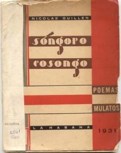 Songoro Cosongo - Nicolas Guillén, 1931
