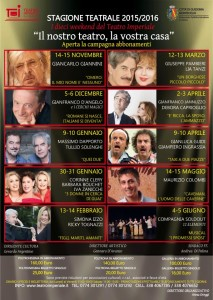 Teatro Imperiale - Spettacoli in abbonamento